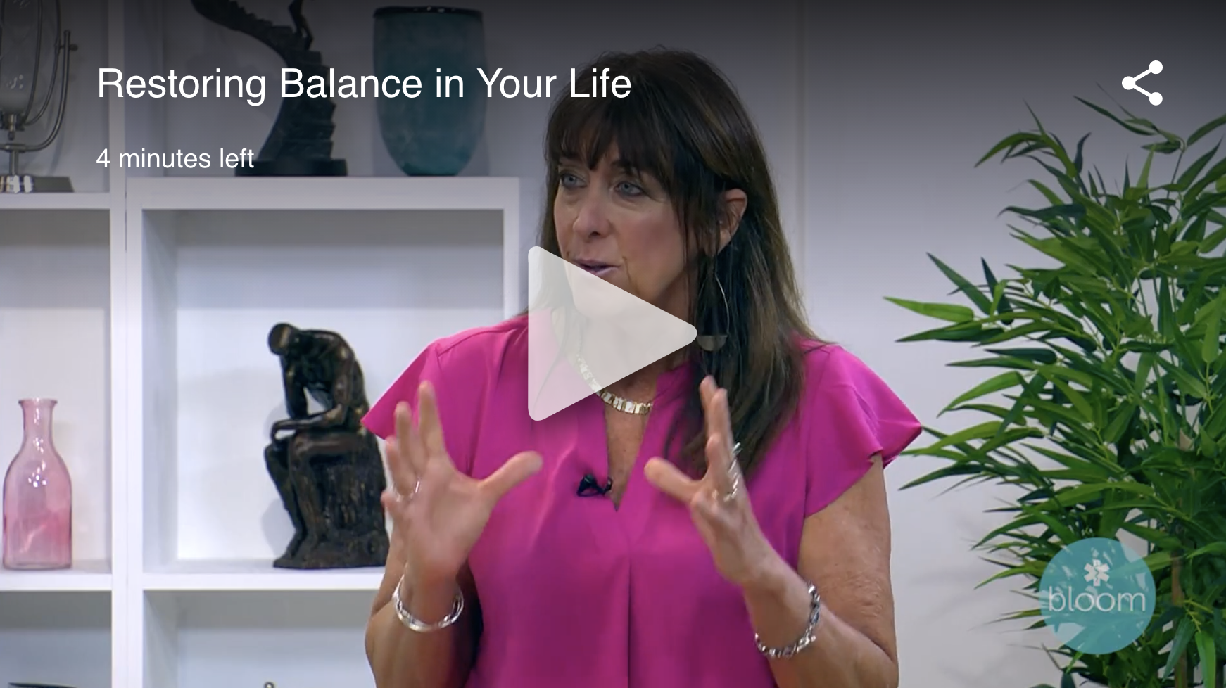restoring balance in your life