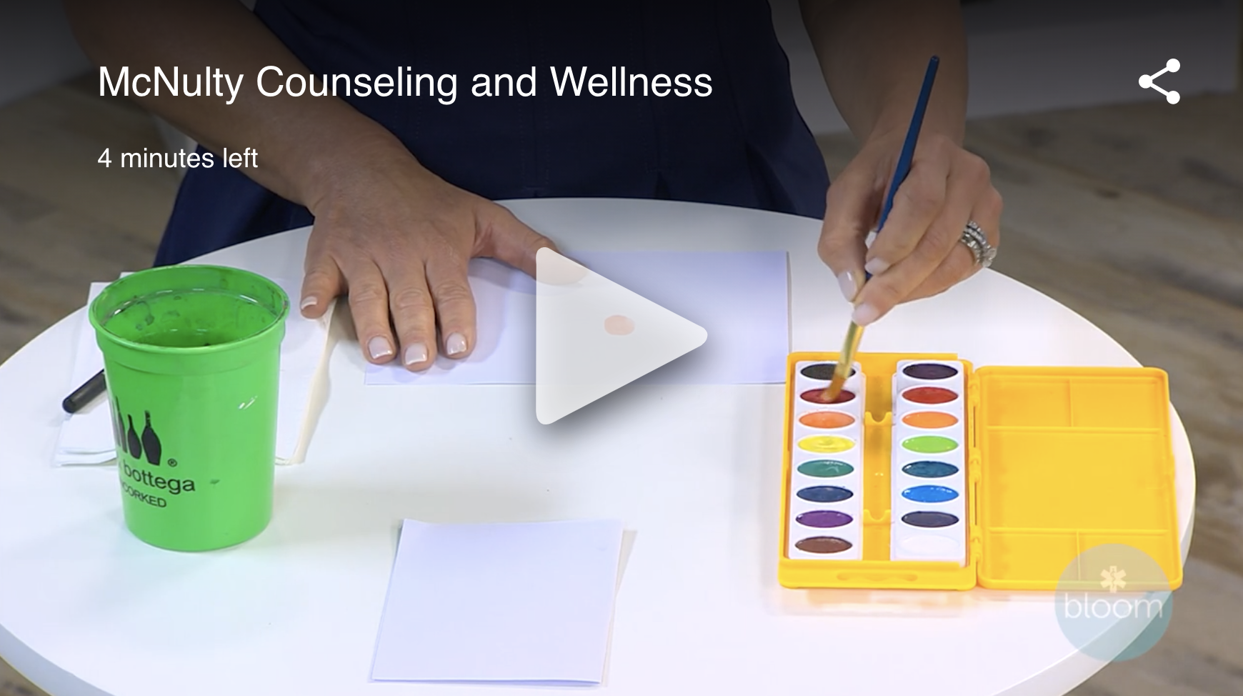 mcnulty counseling and wellness painting